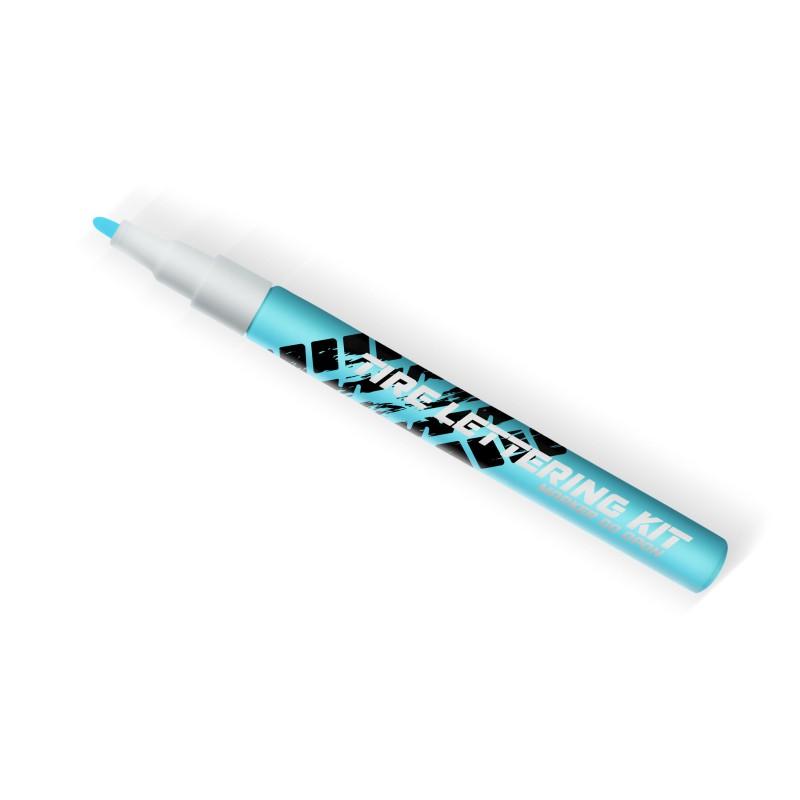 Jasno niebieski marker do opon - GRUBYGARAGE - Sklep Tuningowy