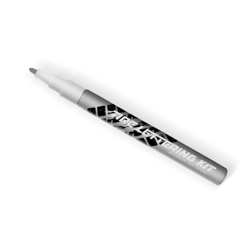 Srebrny marker do opon Tire Lettering Kt - napisy na opony - GRUBYGARAGE - Sklep Tuningowy