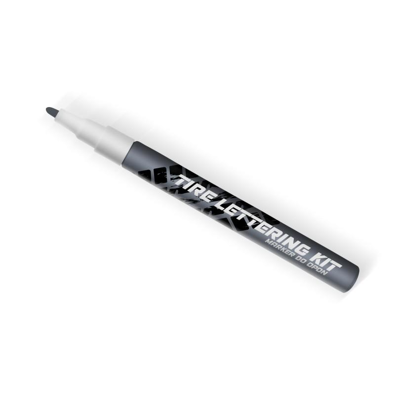 Szary marker do opon Tire Lettering Kt - napisy na opony - GRUBYGARAGE - Sklep Tuningowy