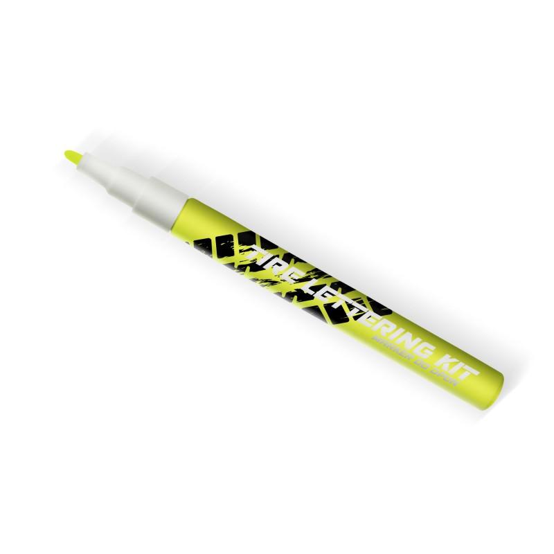 Żółty neonowy marker do opon - GRUBYGARAGE - Sklep Tuningowy