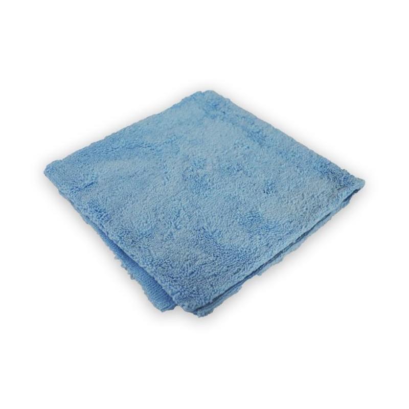Mikrofibra bezszwowa do wosku 1380G 40X40CM Niebieska - GRUBYGARAGE - Sklep Tuningowy