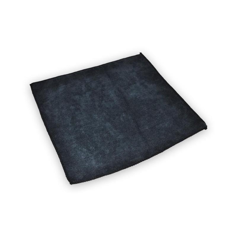 Czarna uniwersalna mikrofibra 320G 30X30CM - GRUBYGARAGE - Sklep Tuningowy