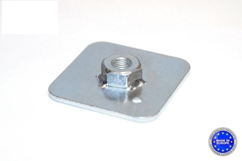 Mocowanie pasów - płytka z nakrętką QMS - GRUBYGARAGE - Sklep Tuningowy