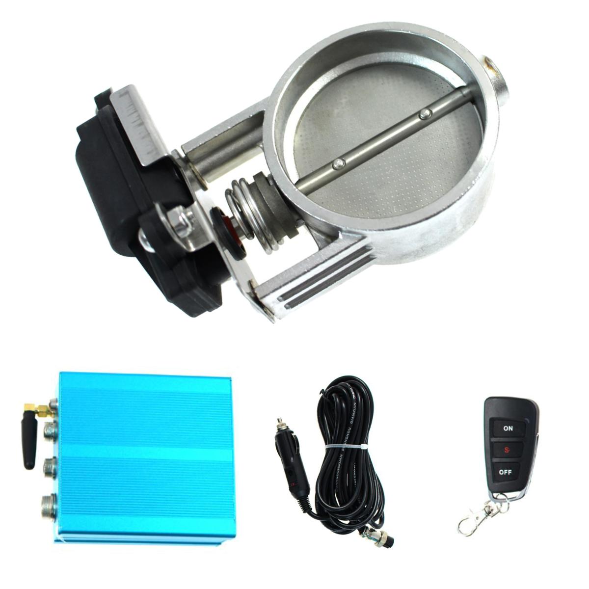 Bezprzewodowa przepustnica elektryczna PRO 70mm (2.75 cala) + pilot - GRUBYGARAGE - Sklep Tuningowy