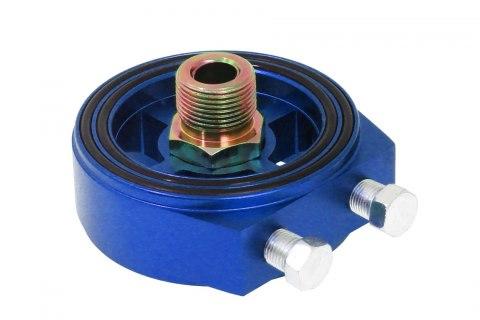 Adapter / podstawka pod filtr oleju TurboWorks  Blue - GRUBYGARAGE - Sklep Tuningowy