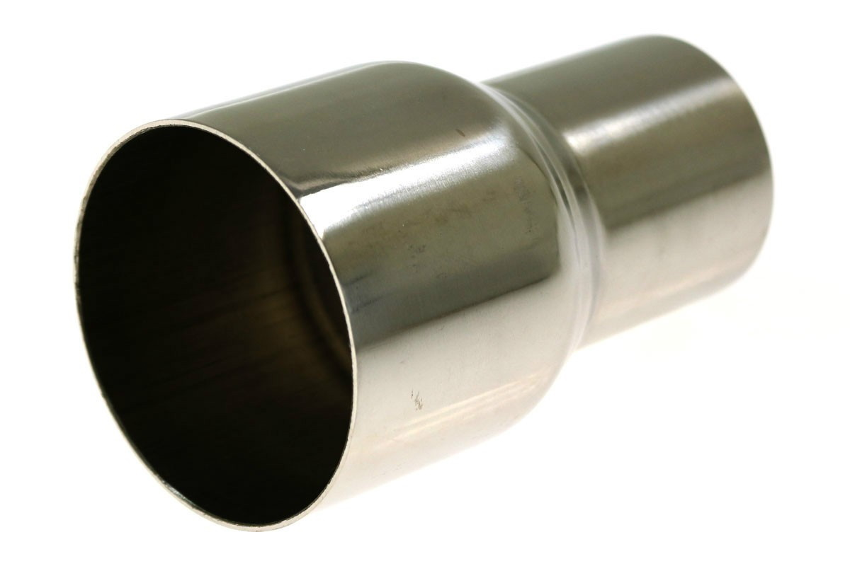 """Nierdzewna redukcja 63mm na 89mm / 2.5 na 3.5"""" - GRUBYGARAGE - Sklep Tuningowy"""