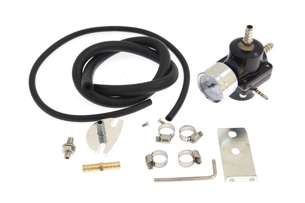 Regulator ciśnienia paliwa TurboWorks FPR01 BLACK - GRUBYGARAGE - Sklep Tuningowy