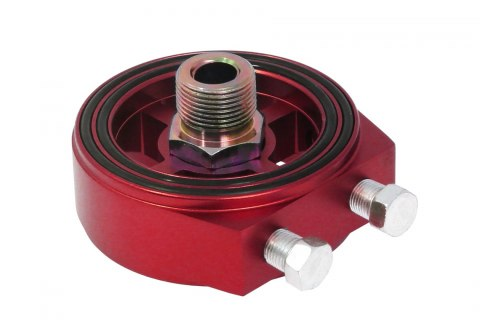 Adapter / podstawka pod filtr oleju TurboWorks Red - GRUBYGARAGE - Sklep Tuningowy