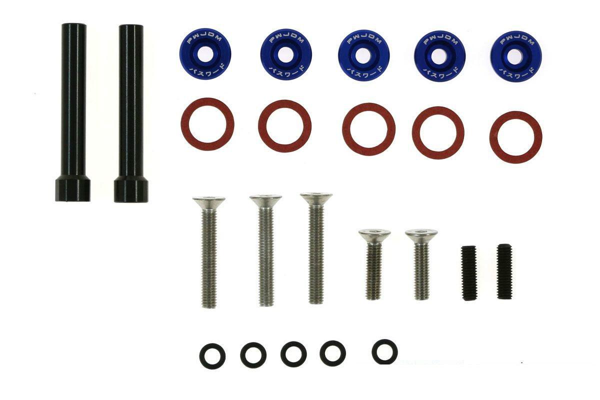 Śrubki Pokrywy Zaworów Honda Civic D-Seria JDM blue - GRUBYGARAGE - Sklep Tuningowy