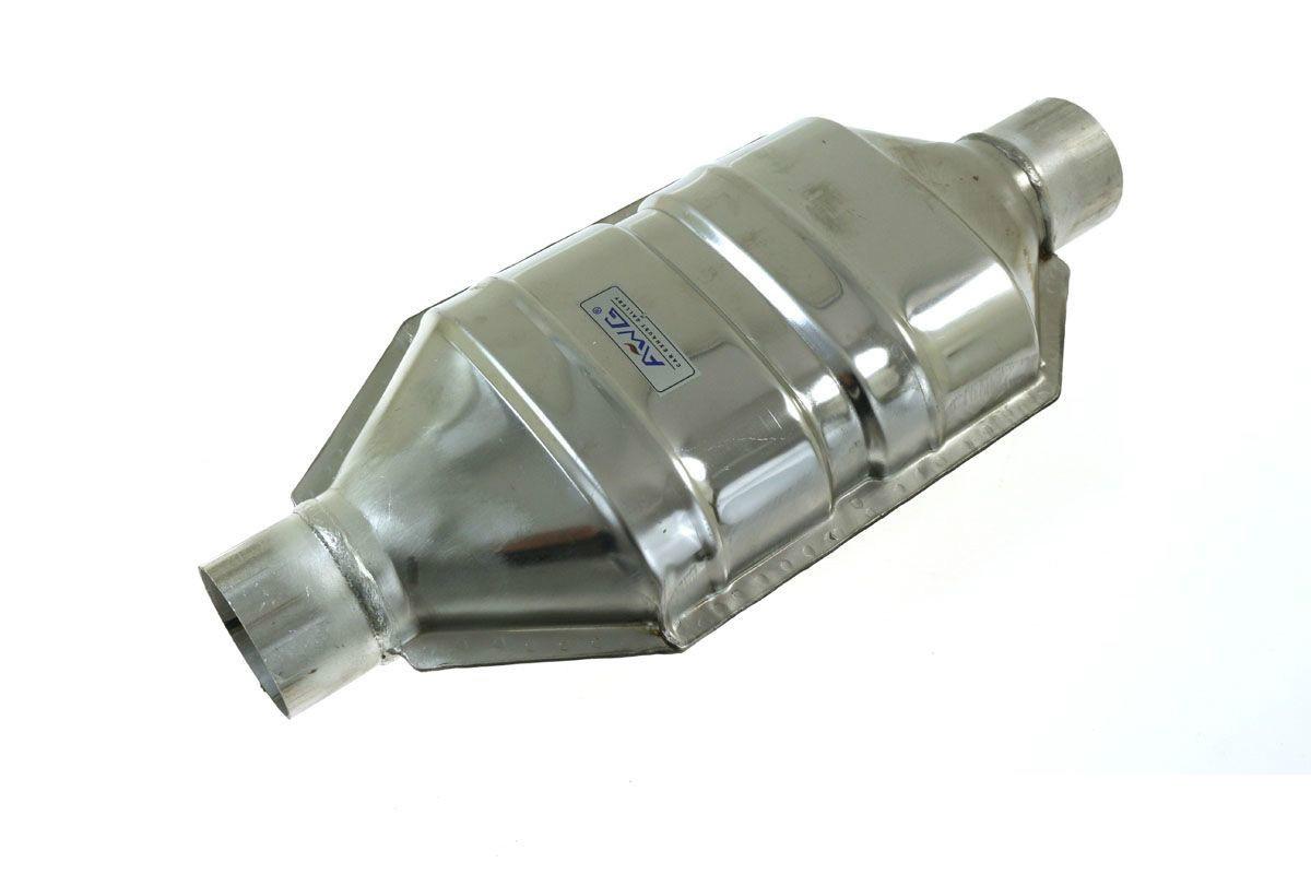Tłumik w obudowie katalizatora fi 60 AWG - GRUBYGARAGE - Sklep Tuningowy