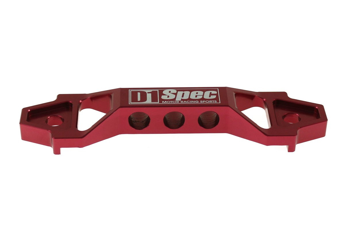 Uchwyt Akumulatora D1Spec 13cm red - GRUBYGARAGE - Sklep Tuningowy