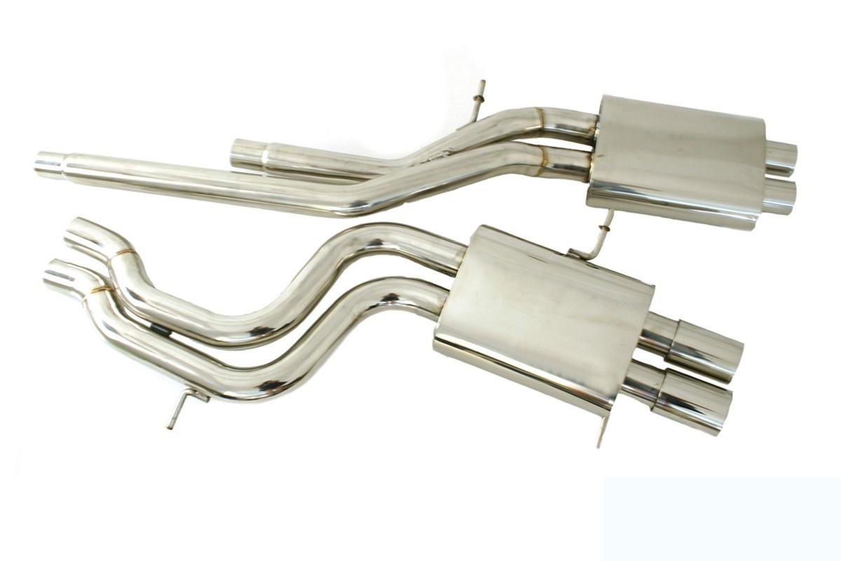 Układ wydechowy CatBack - Audi A4 S4 B5 2.7 - GRUBYGARAGE - Sklep Tuningowy