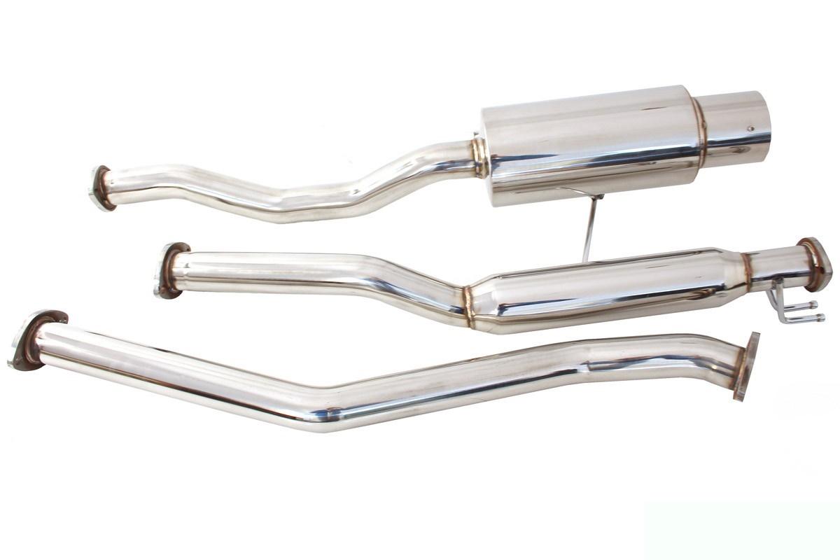 Układ wydechowy CatBack - Honda Civic 01+ 2/4D - GRUBYGARAGE - Sklep Tuningowy
