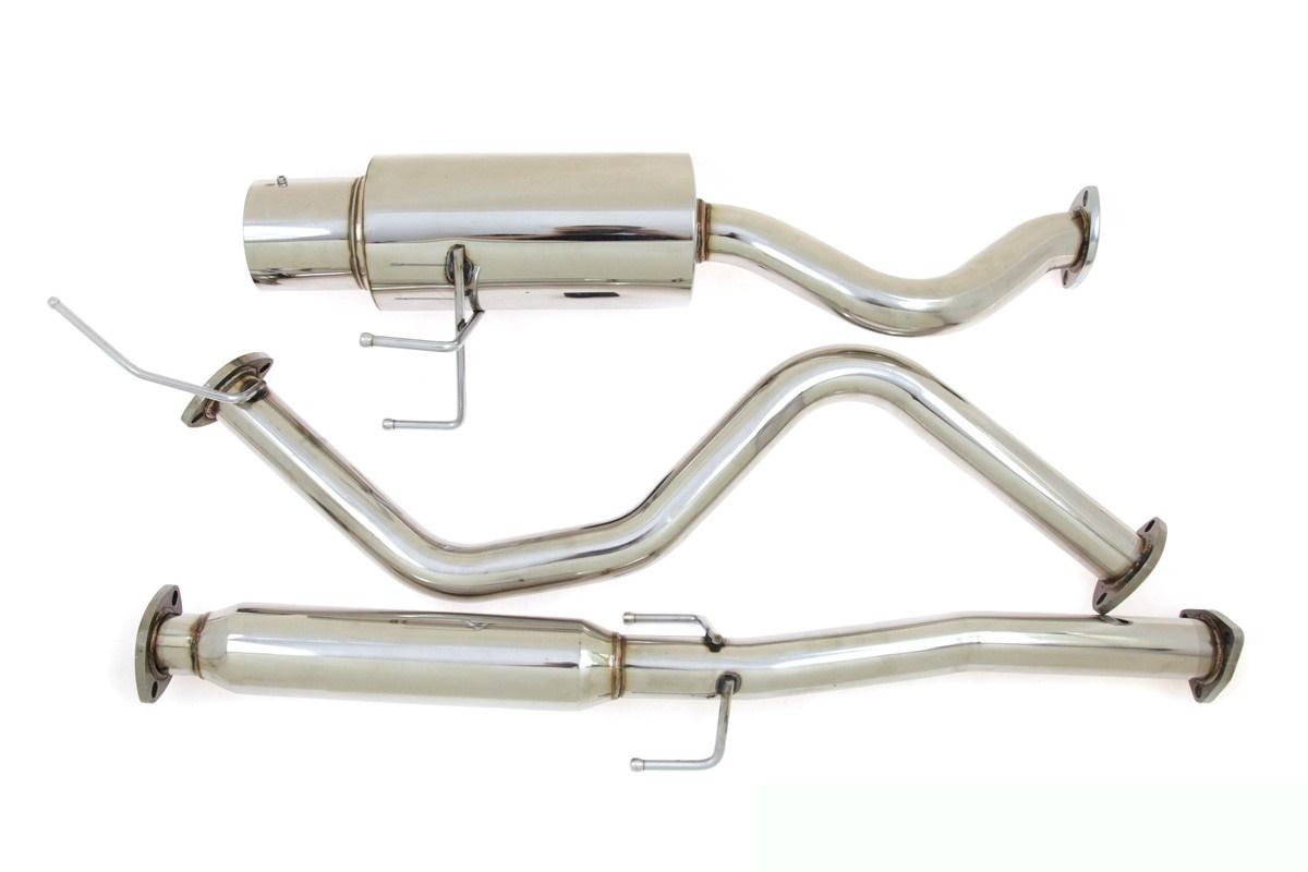 Układ wydechowy CatBack - Honda Civic 3D 92-95 - GRUBYGARAGE - Sklep Tuningowy