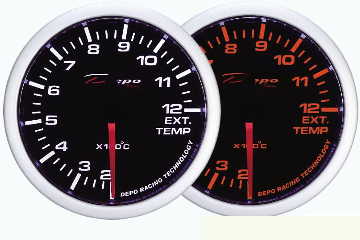 ZEGAR DEPO WA 60mm - Exhaust Temperature - GRUBYGARAGE - Sklep Tuningowy