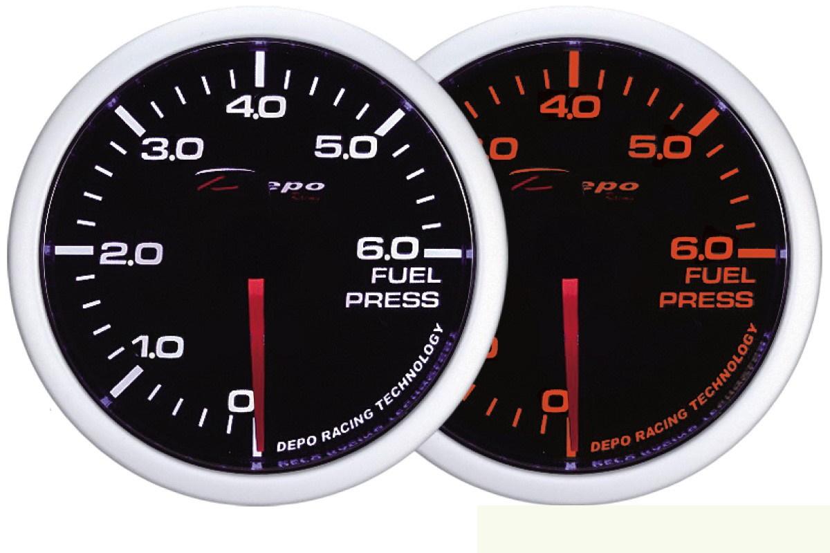 ZEGAR DEPO WA 60mm - Fuel Pressure - GRUBYGARAGE - Sklep Tuningowy