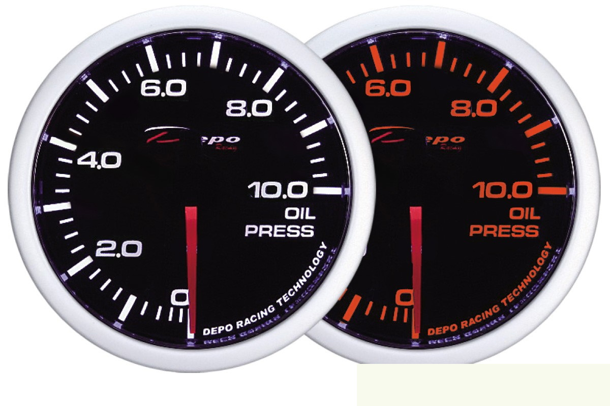 ZEGAR DEPO WA 60mm - Oil Pressure - GRUBYGARAGE - Sklep Tuningowy