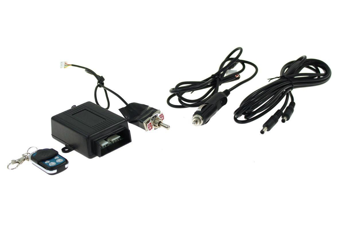 Zestaw sterowania przepustnicy wydechu bezprzewodowy + przełącznik - GRUBYGARAGE - Sklep Tuningowy