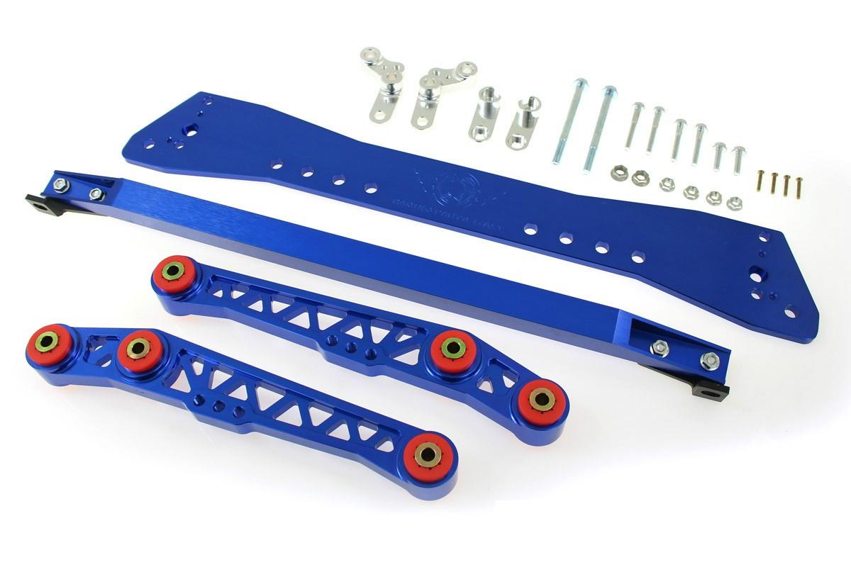 Zestaw Zawieszenia Tył wahacze Honda Civic 92-95 Blue - GRUBYGARAGE - Sklep Tuningowy