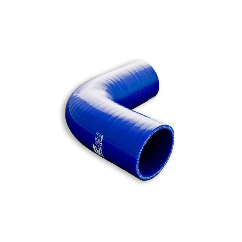 Kolanko silikonowe FMIC 90st 35mm Niebieskie - GRUBYGARAGE - Sklep Tuningowy