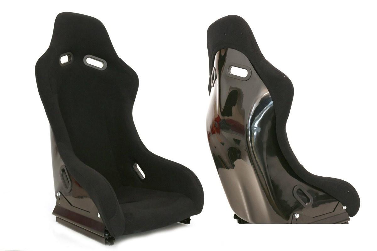 Fotel sportowy GTR Plus Welur Black - GRUBYGARAGE - Sklep Tuningowy