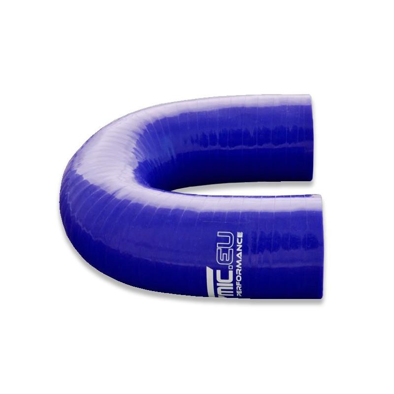Kolanko silikonowe FMIC 180st 76mm Niebieskie - GRUBYGARAGE - Sklep Tuningowy