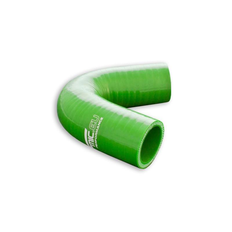 Kolanko silikonowe FMIC 135st 35mm Zielone - GRUBYGARAGE - Sklep Tuningowy