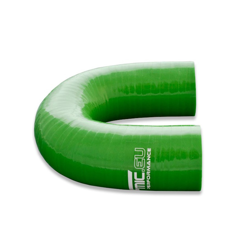Kolanko silikonowe FMIC 180st 45mm Zielone - GRUBYGARAGE - Sklep Tuningowy