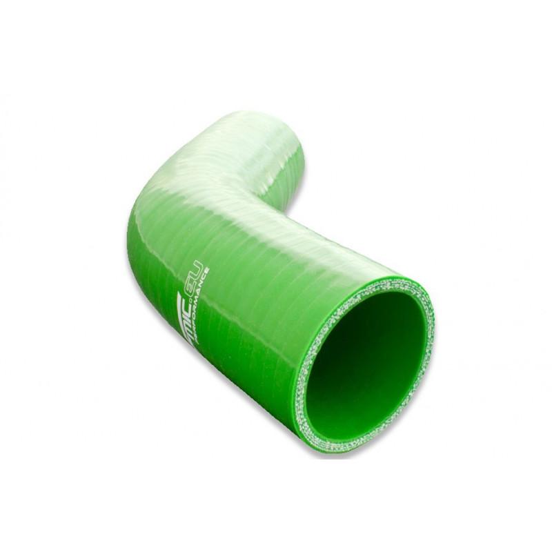 Kolanko silikonowe FMIC 45st 76mm Zielone - GRUBYGARAGE - Sklep Tuningowy