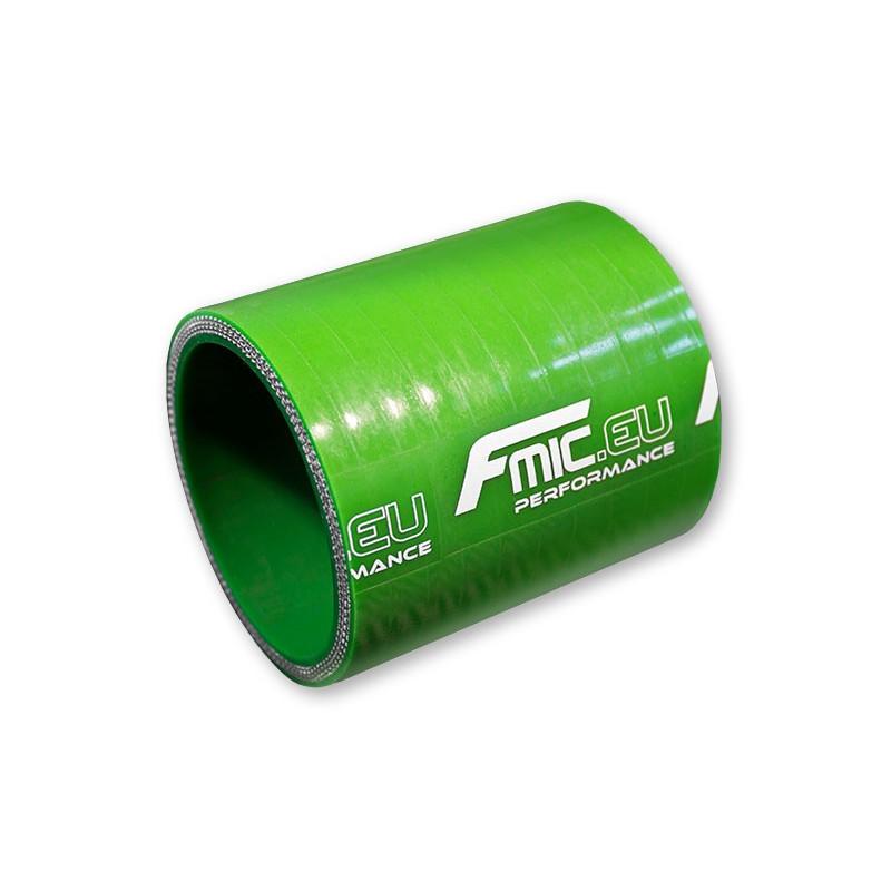 Łącznik silikonowy prosty FMIC 22mm 7.6CM Zielony - GRUBYGARAGE - Sklep Tuningowy