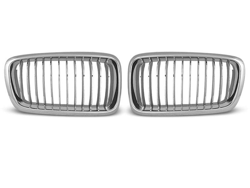 GRILLE CHROME fits BMW E38 06.94 - 07.01 - GRUBYGARAGE - Sklep Tuningowy