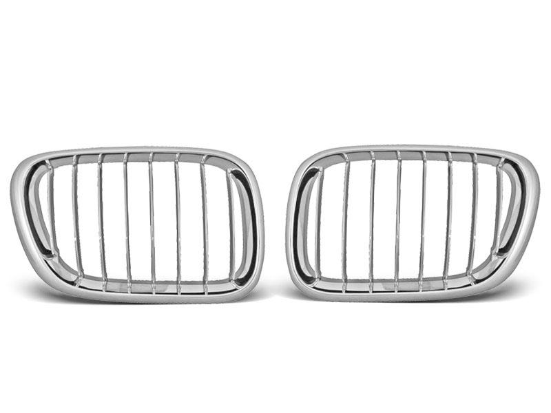 GRILLE CHROME fits BMW X5 E53 09.99-10.03 - GRUBYGARAGE - Sklep Tuningowy