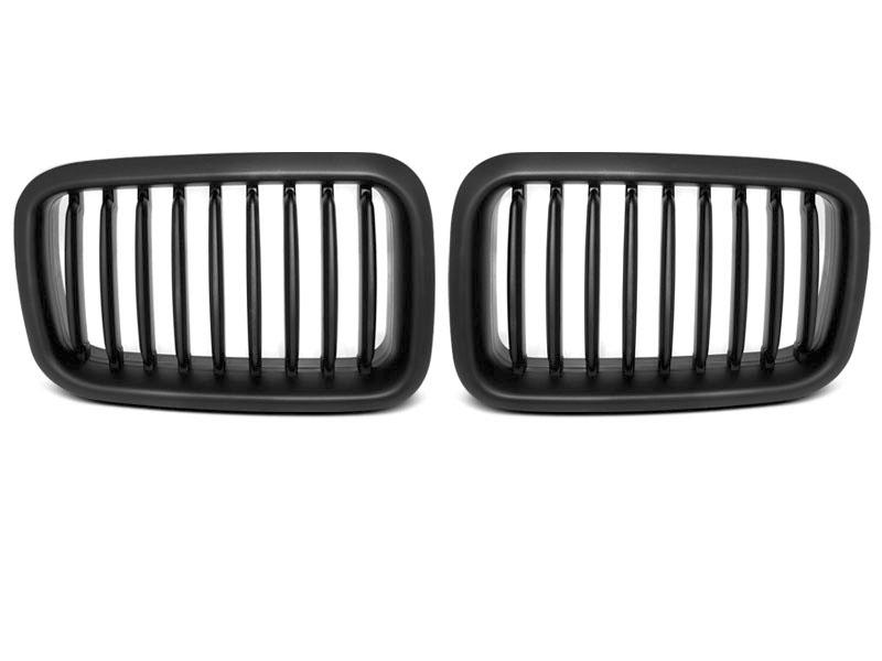 GRILLE BLACK fits BMW E36 12.90-09.96 - GRUBYGARAGE - Sklep Tuningowy