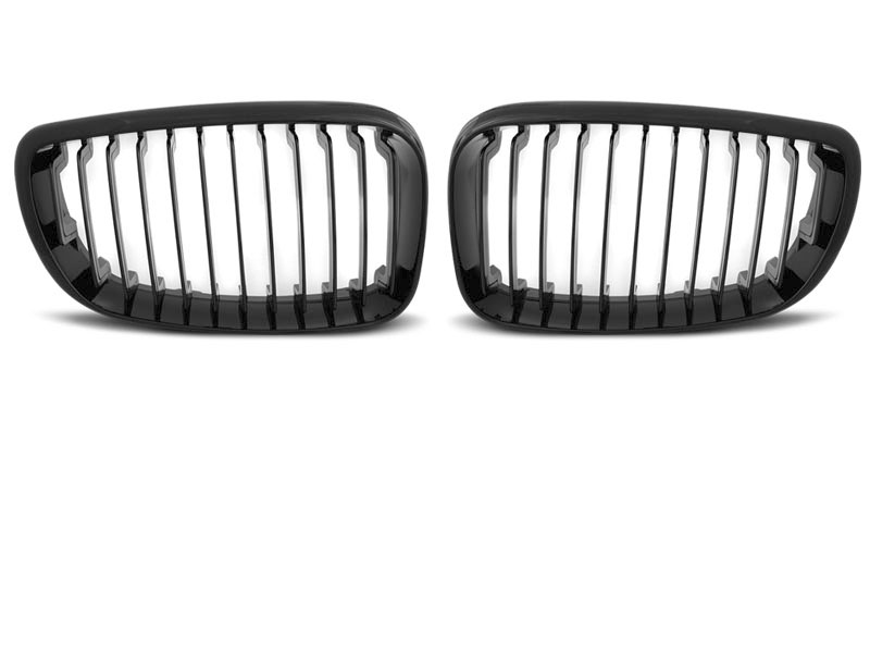 GRILLE GLOSSY BLACK fits BMW E87/E81/E82/E88 09.07-13 - GRUBYGARAGE - Sklep Tuningowy