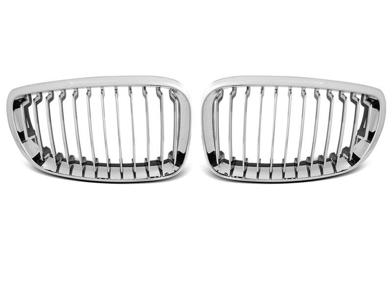 GRILLE CHROME fits BMW E87/E81/E82/E88 09.07-13 - GRUBYGARAGE - Sklep Tuningowy