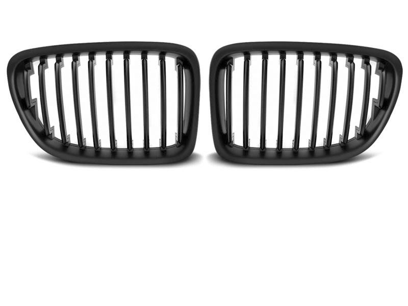 GRILLE BLACK MATT fits BMW X1 E84 10.09-08.12 - GRUBYGARAGE - Sklep Tuningowy