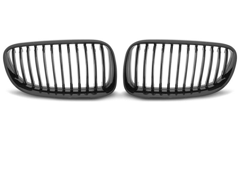 GRILLE GLOSSY BLACK fits BMW E92 10-07.13 C/C - GRUBYGARAGE - Sklep Tuningowy