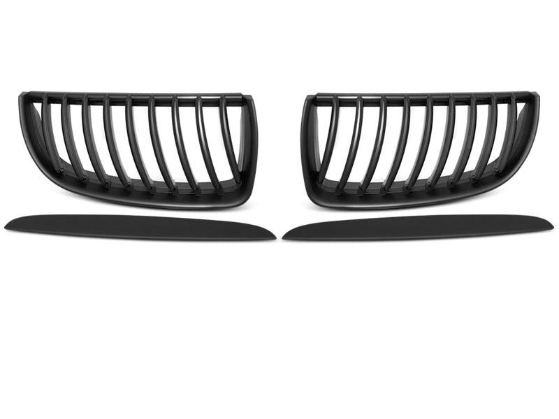 GRILLE BLACK MATT fits BMW E90 / E91 03.05-08.08 - GRUBYGARAGE - Sklep Tuningowy