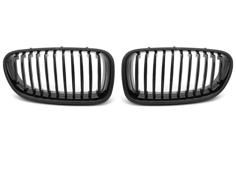 GRILLE GLOSSY BLACK fits BMW F10 / F11 10-16 - GRUBYGARAGE - Sklep Tuningowy
