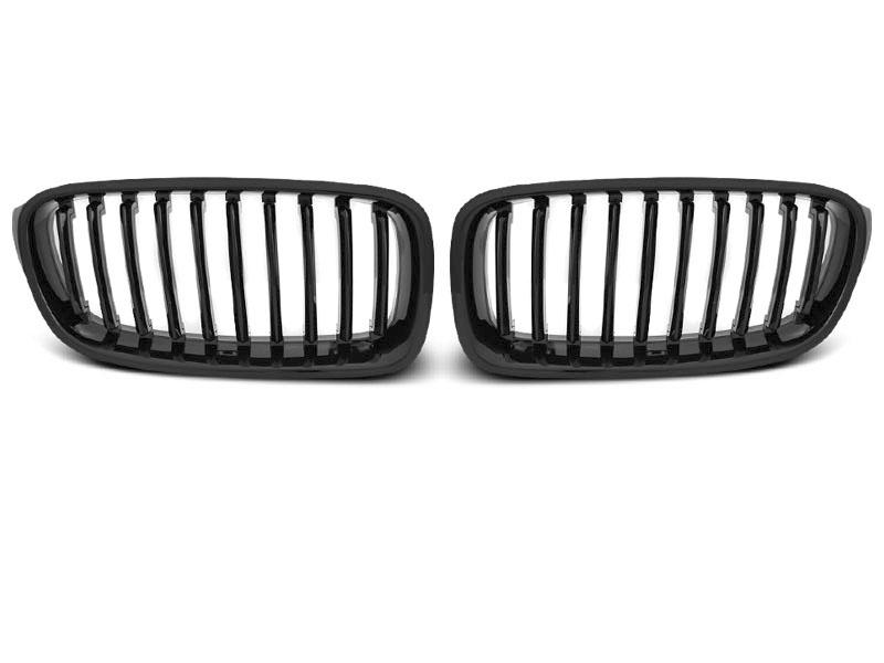 GRILLE GLOSSY BLACK fits BMW F30 / F31 10.11-18 - GRUBYGARAGE - Sklep Tuningowy
