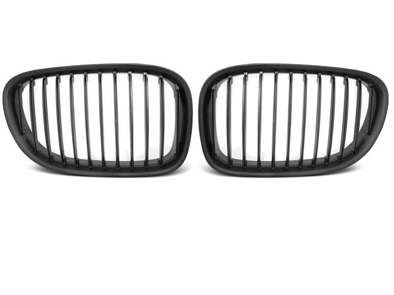 GRILLE BLACK MATT fits BMW F01 09-15 - GRUBYGARAGE - Sklep Tuningowy