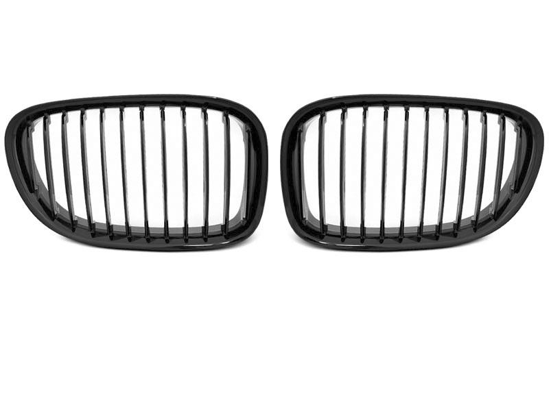 GRILLE GLOSSY BLACK fits BMW F01 09-15 - GRUBYGARAGE - Sklep Tuningowy