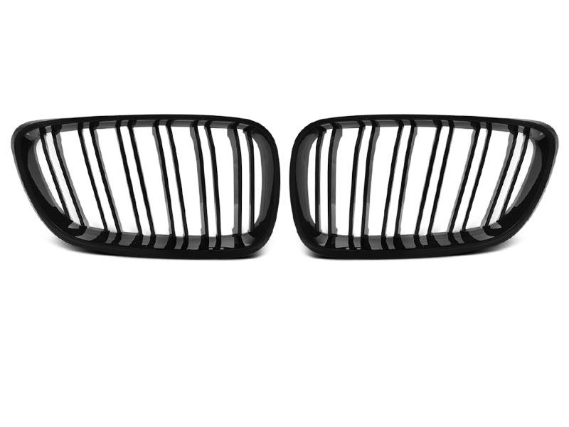 GRILLE GLOSSY BLACK SPORT LOOK fits BMW F22 / F23 - GRUBYGARAGE - Sklep Tuningowy