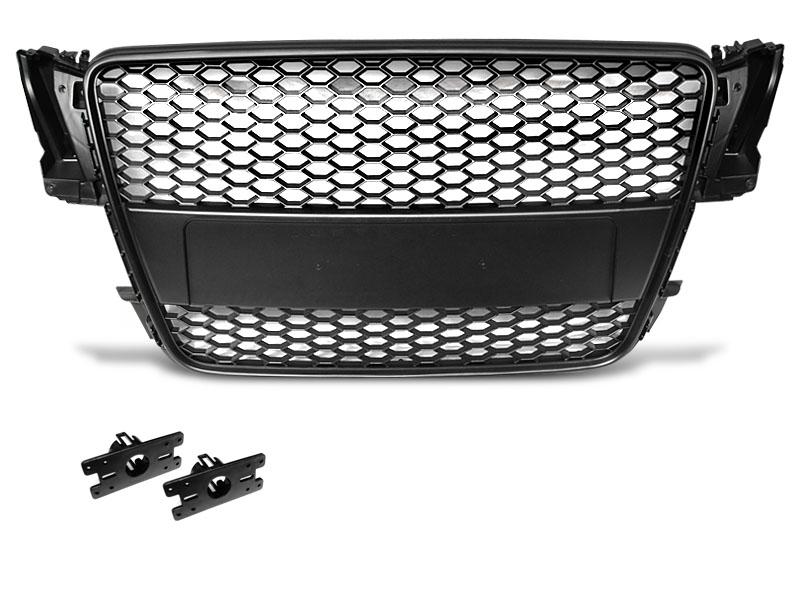 GRILLE SPORT BLACK fits AUDI A5 07-06.11 - GRUBYGARAGE - Sklep Tuningowy