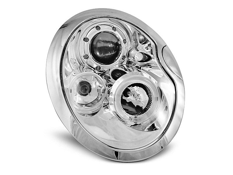 Lampy ANGEL EYES CHROME fits BMW MINI (COOPER) 05.01-10.06