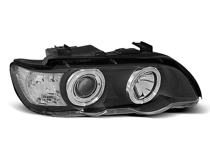 Lampy ANGEL EYES BLACK fits BMW X5 E53 09.99-10.03