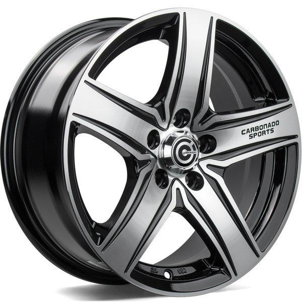 Carbonado GTR Sports 1 6.5x15 5x112 ET38 CB57.1 - GRUBYGARAGE - Sklep Tuningowy