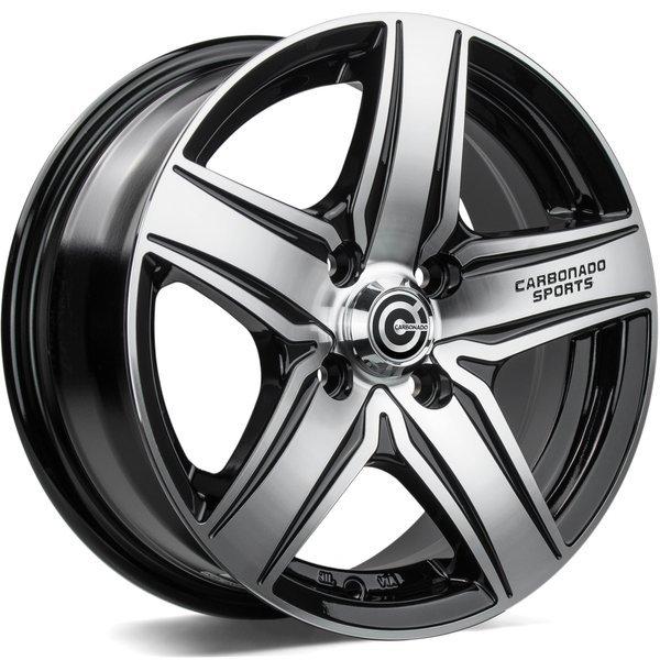 Carbonado GTR Sports 1 6.5x15 4x100 ET35 CB67.1 - GRUBYGARAGE - Sklep Tuningowy