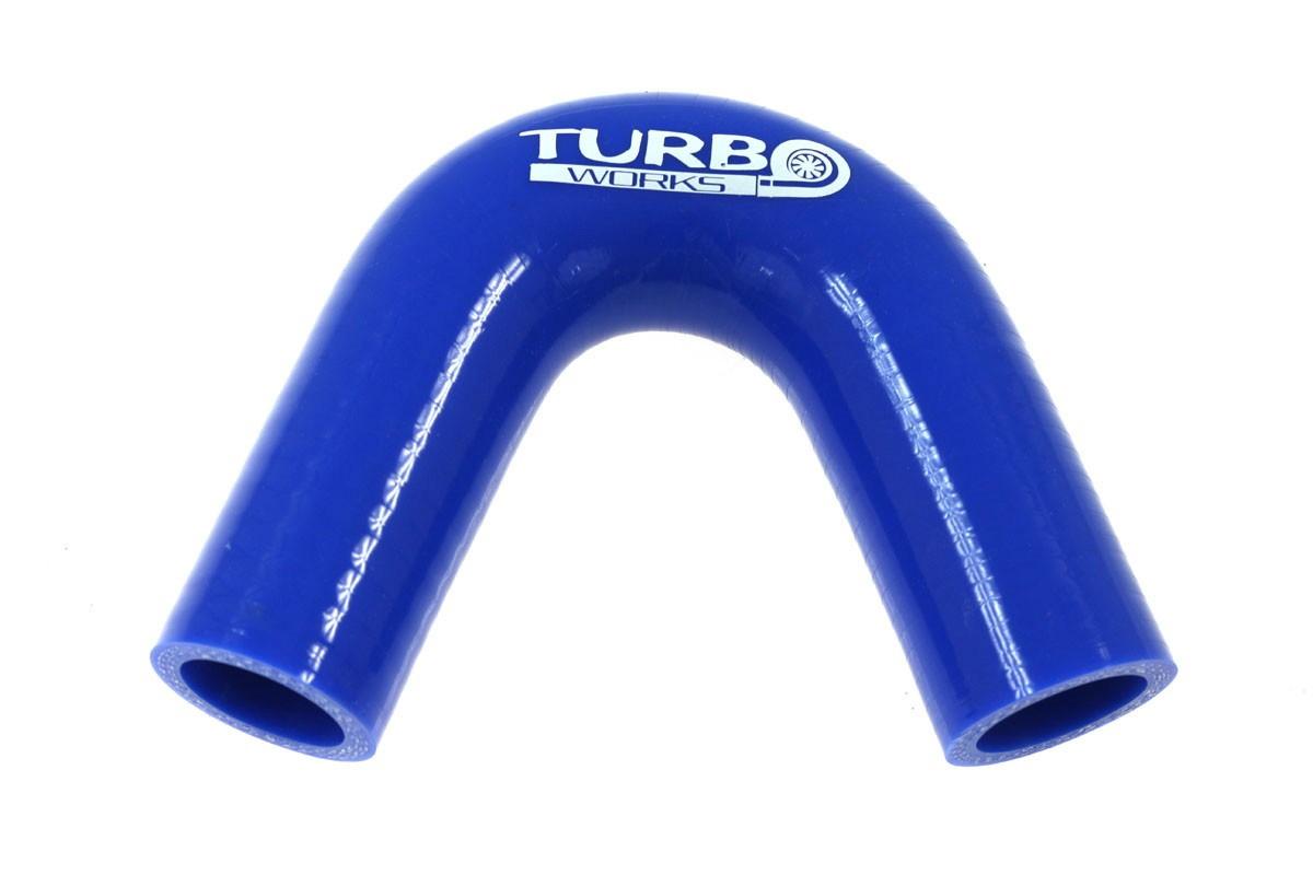 Kolanko 135st TurboWorks Blue 28mm - GRUBYGARAGE - Sklep Tuningowy
