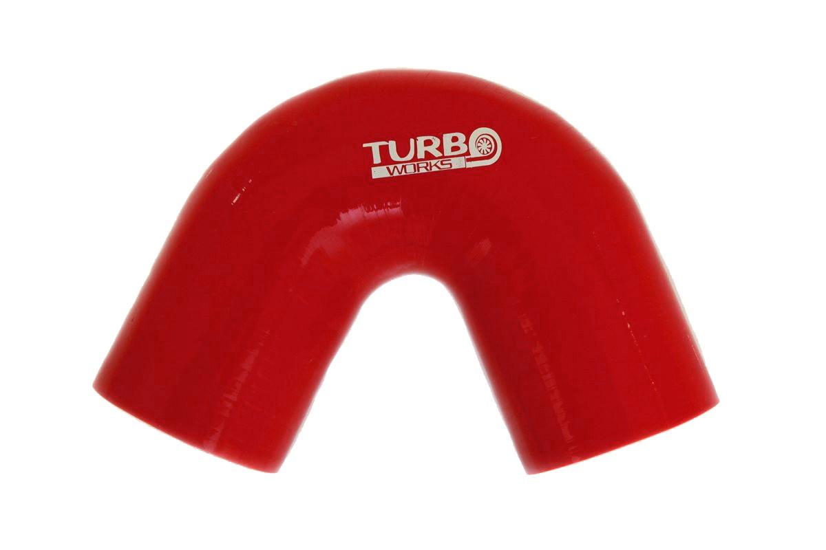 Kolanko 135st TurboWorks Red 70mm - GRUBYGARAGE - Sklep Tuningowy